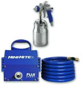 Fuji 2804-T75G Mini-Mite 4 PLATINUM – T75G Gravity HVLP Spray System